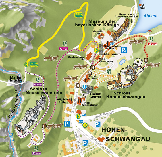 schwangau map